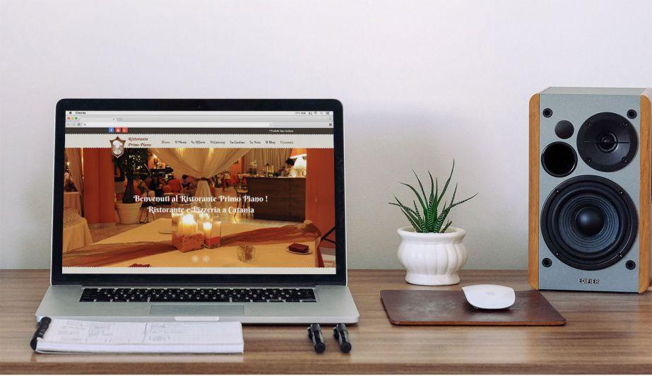 Portfolio ristorante primo piano sito web cms catania for Sito web piano gratuito